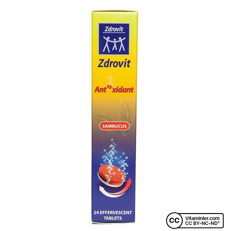 Zdrovit Multivitamin Mineral Sambucus Efervesan 24 Tablet