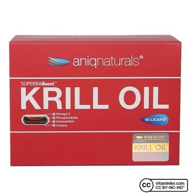 Aniqnaturals Superba Krill Oil 60 Kapsül