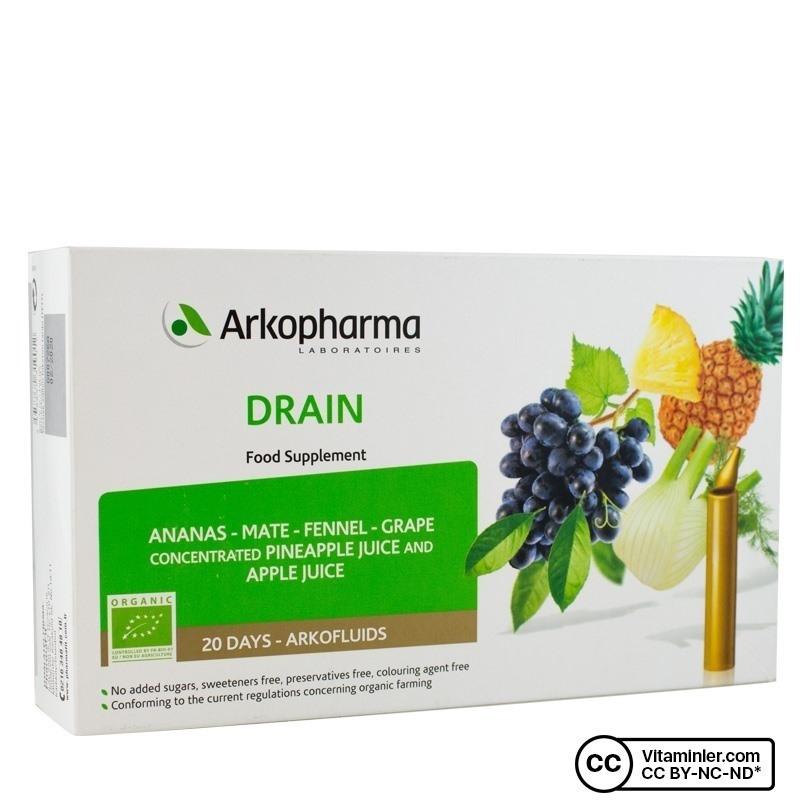 Arkopharma Drain 20 Ampül