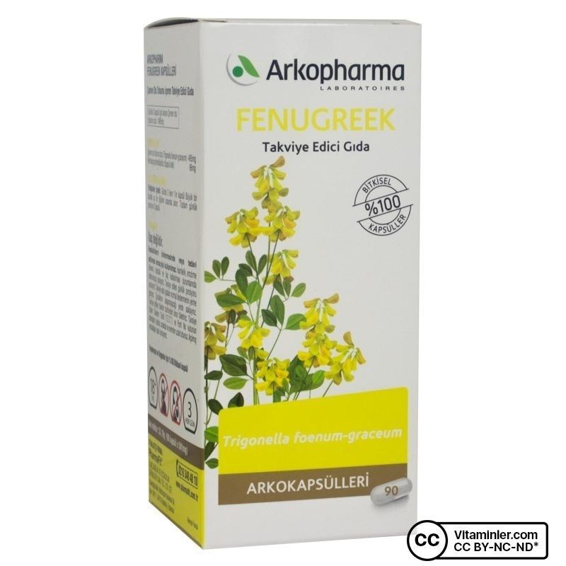 Arkopharma Fenugreek 495 mg 90 Kapsül