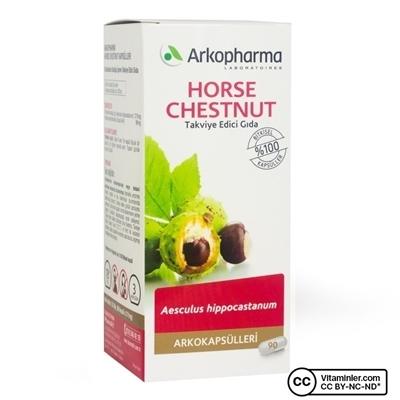 Arkopharma Horse Chestnut 2750mg 90 Kapsül