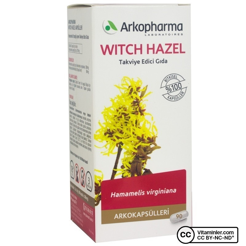 Arkopharma Witch Hazel 290 mg 90 Kapsül