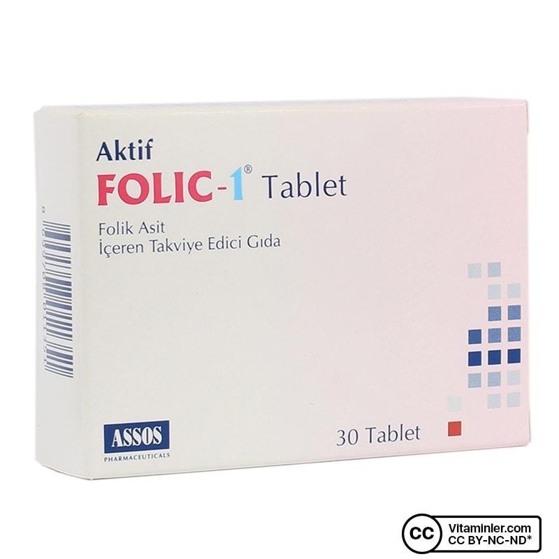 Assos Folic 1 30 Tablet
