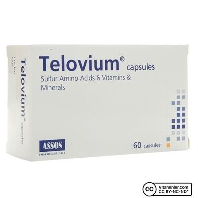 Assos Telovium Kapsül 60 Kapsül