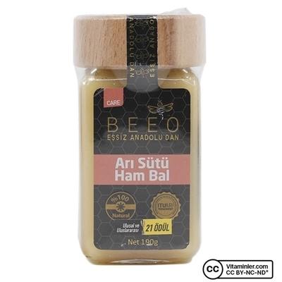 Bee'o Arı Sütü Ham Bal 190 Gr