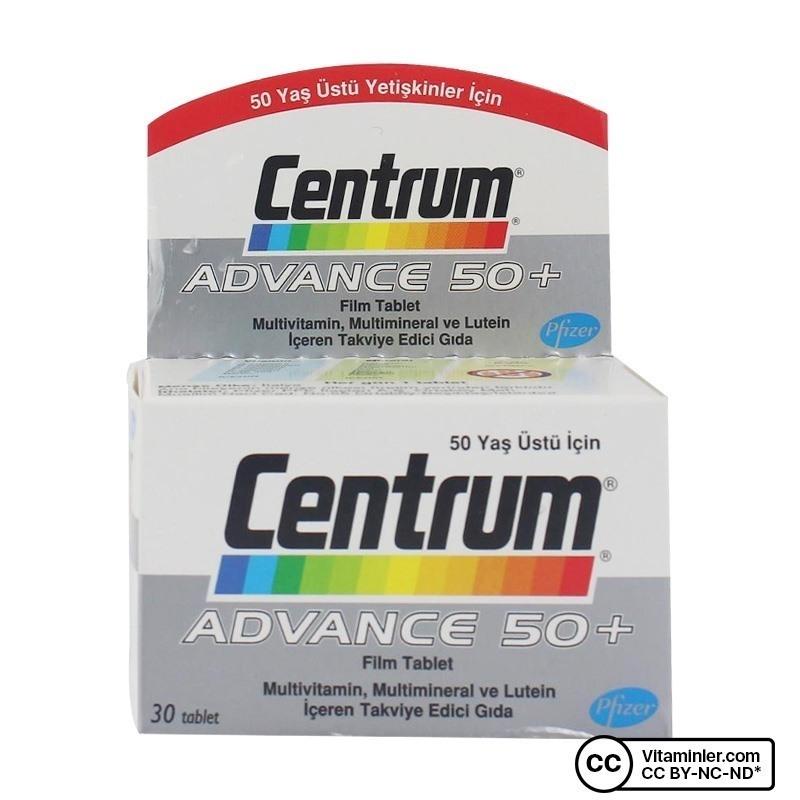 Centrum Advance 50+ Multivitamin 30 Tablet