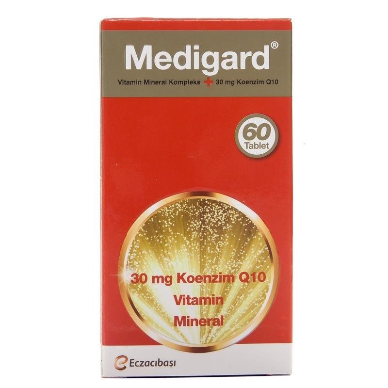 Eczacıbaşı Medigard Vitamin Mineral Kompleks CoQ10 60 Tablet