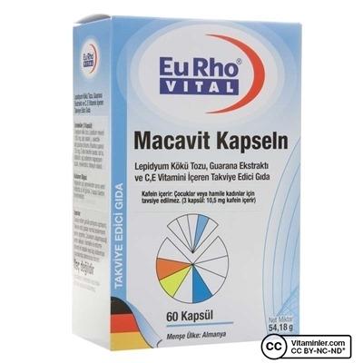 Eurho Vital Macavit 60 Kapsül