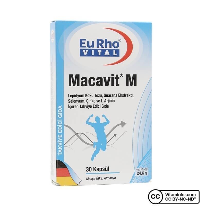 Eurho Vital Macavit M 30 Kapsül