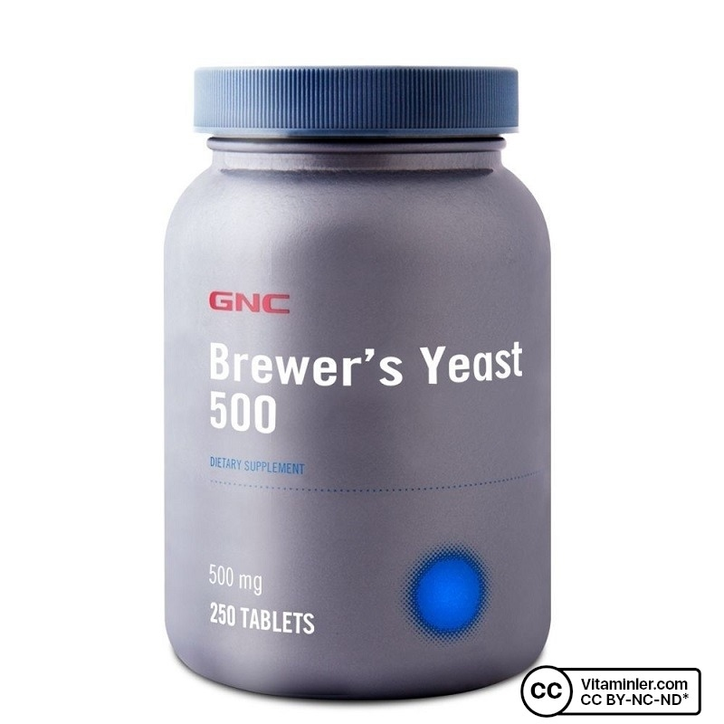 GNC Brewer's Yeast 500 mg 250 Tablet