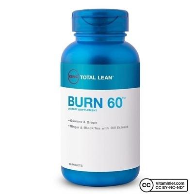 Gnc Burn 60 60 Tablet