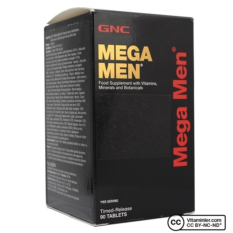 GNC Mega Men 90 Tablet