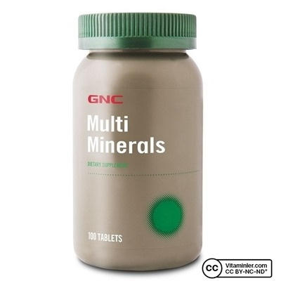 GNC Multi Minerals 100 Tablet