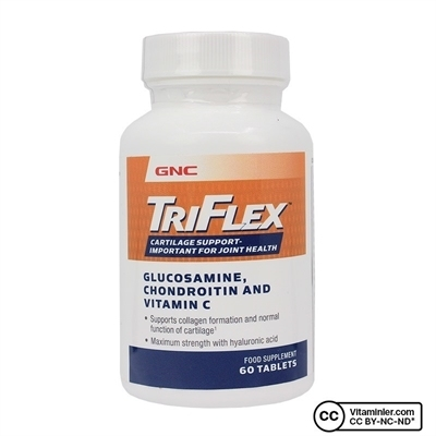 GNC Triflex Glucosamine Chondroitin and Vitamin C 60 Tablet