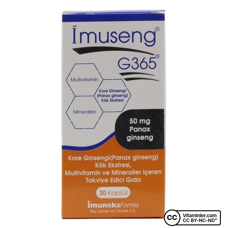 Imuneks Imuseng G365 30 Kapsül