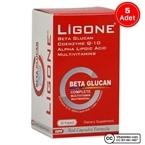 Ligone Beta-Glucan Probiotic Multivitamin 30 Kapsül 5 Adet
