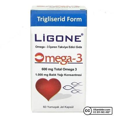 Ligone Omega 3 60 Kapsül