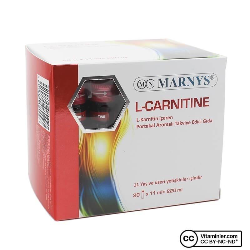 Marnys L-Carnitine 2000 Mg 20 Flakon