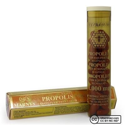 Marnys Propolis 1000 Mg ve Ekinezya 30 Kapsül