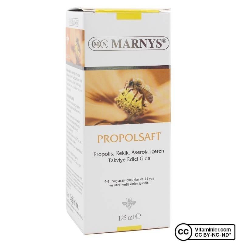 Marnys Propolsaft Propolis Şurup 125 ml