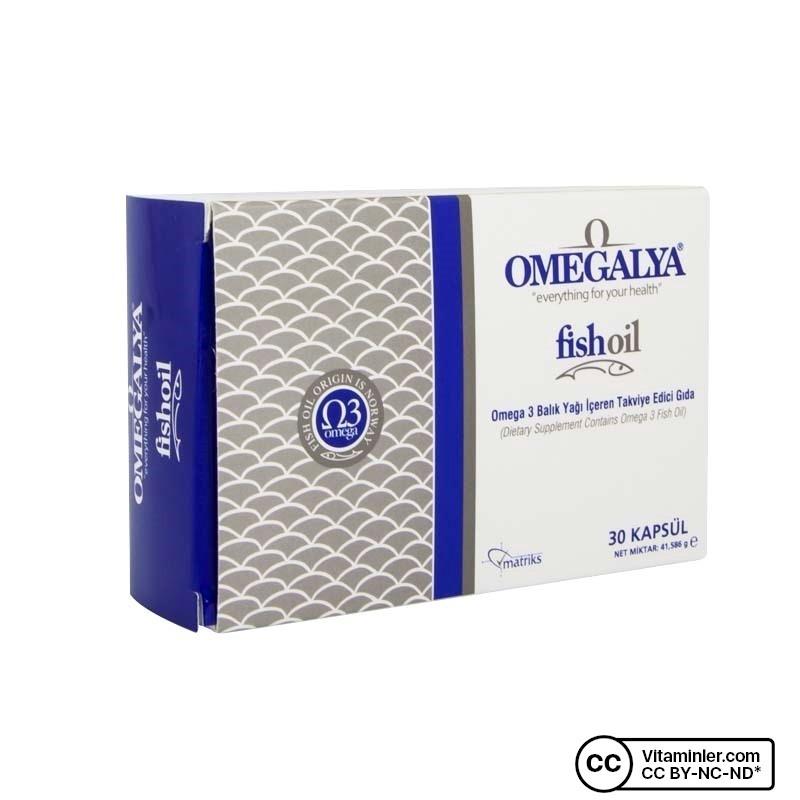 Matriks Omegalya Fishoil 30 Kapsül
