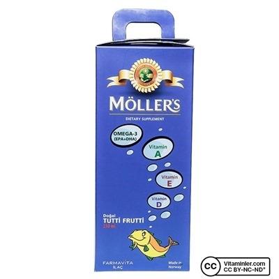 Möller's Omega 3 Cod Liver Oil 250 ml