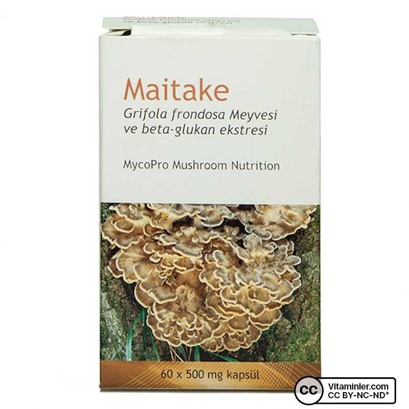 MycoPro Maitake 500 mg 60 Kapsül
