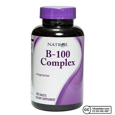 Natrol B-100 Complex 100 Tablet
