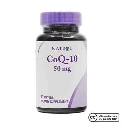 Natrol CoQ-10 50 mg 30 Kapsül