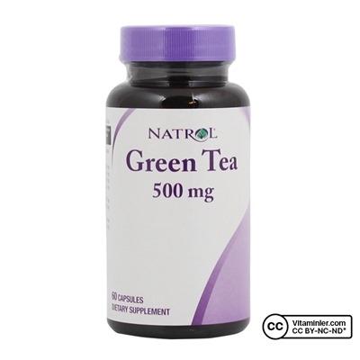 Natrol Green Tea 500 mg 60 Kapsül