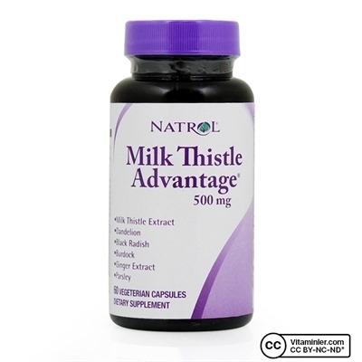 Natrol Milk Thistle Advantage 500 mg 60 Kapsül