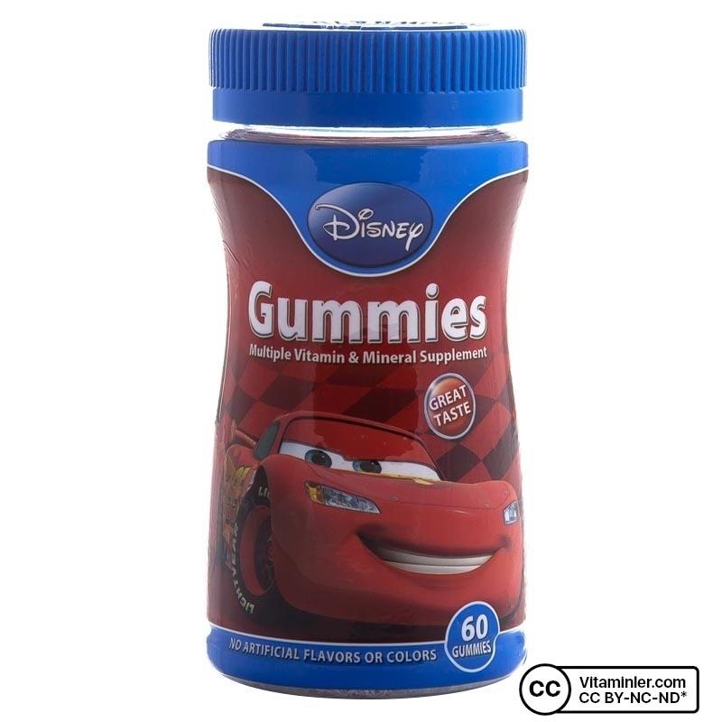 Nature's Bounty Disney Gummies Cars 60 Tablet