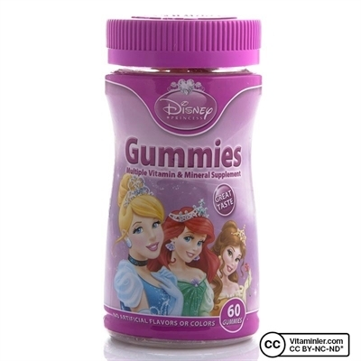 Nature's Bounty Disney Gummies Princess 60 Tablet