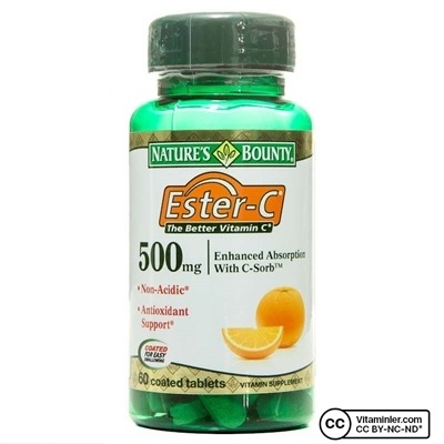Nature's Bounty Ester C 500 mg 60 Tablet