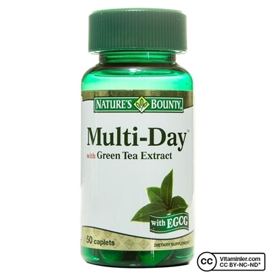 Nature's Bounty Multi-Day With Green Tea Extract 50 Tablet