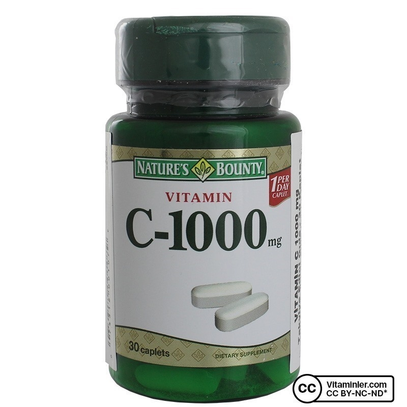 Nature's Bounty Vitamin C-1000 Mg 30 Tablet