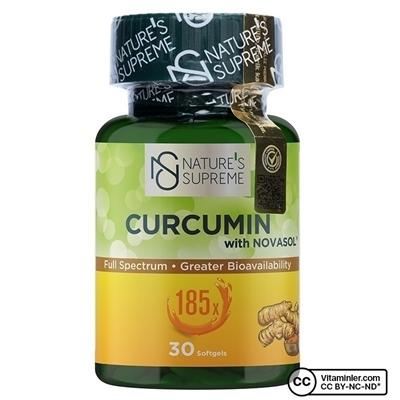 Nature's Supreme Curcumin 30 Yumuşak Kapsül