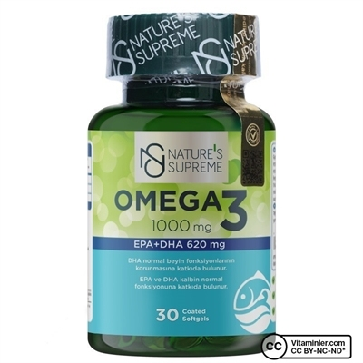 Nature's Supreme Omega 3 1000 Mg 30 Kapsül