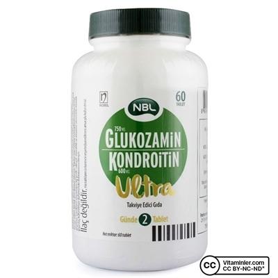 NBL Glukozamin Kondrotin Ultra 60 Tablet