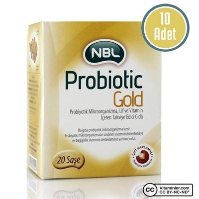 NBL Probiotic GOLD 20 Saşe 10 Adet