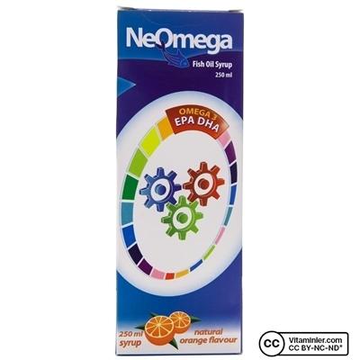 NeOmega Balık Yağı Omega 3 Şurup 250 ml
