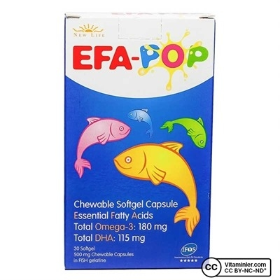New Life Efa-Pop 30 Kapsül