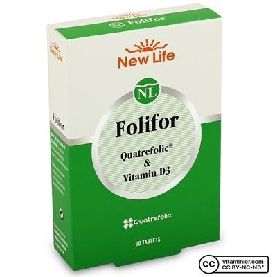 New Life Folifor 30 Tablet