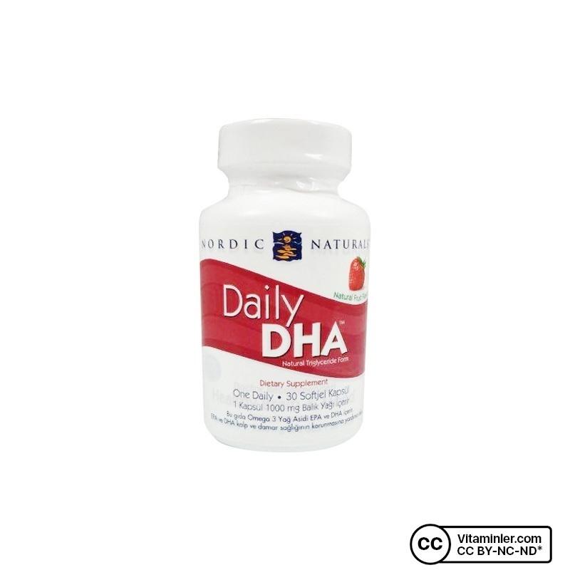 Nordic Naturals Daily DHA Balık Yağı 1000 Mg 30 Softjel