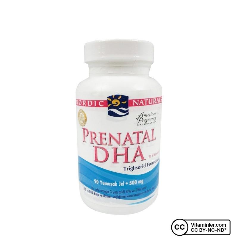 Nordic Naturals Prenatal DHA 500 mg 90 Softjel