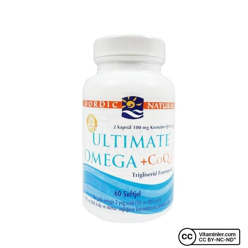 Nordic Naturals Ultimate Omega + CoQ10 60 Softjel