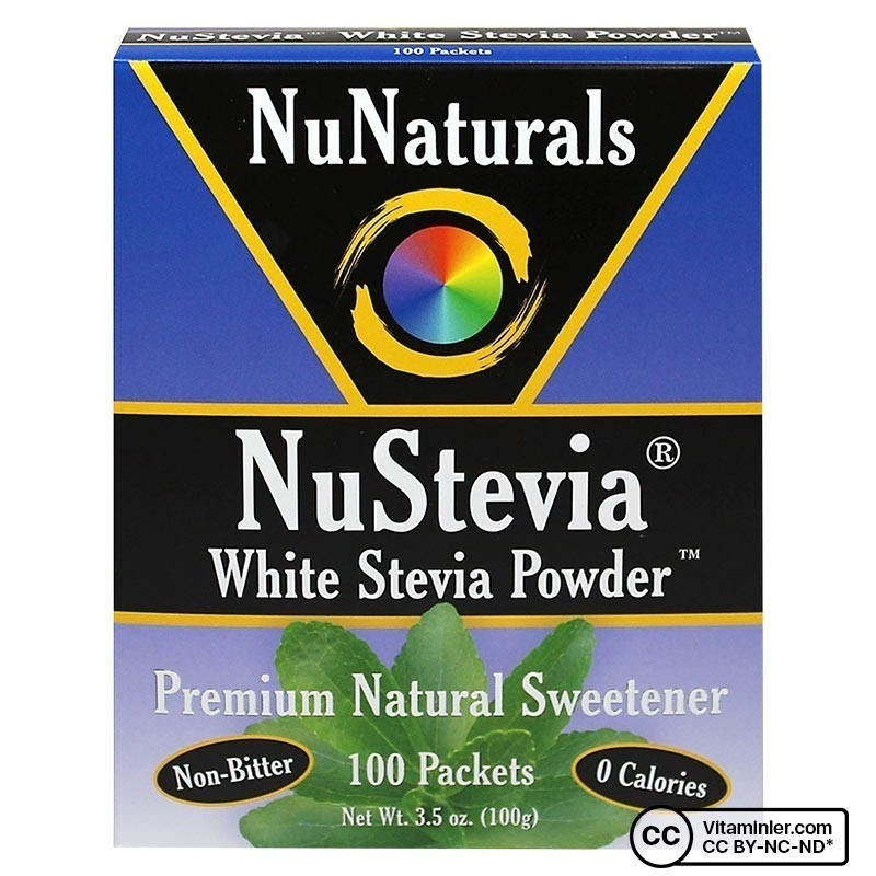 NuNaturals NuStevia Powder 100 Paket