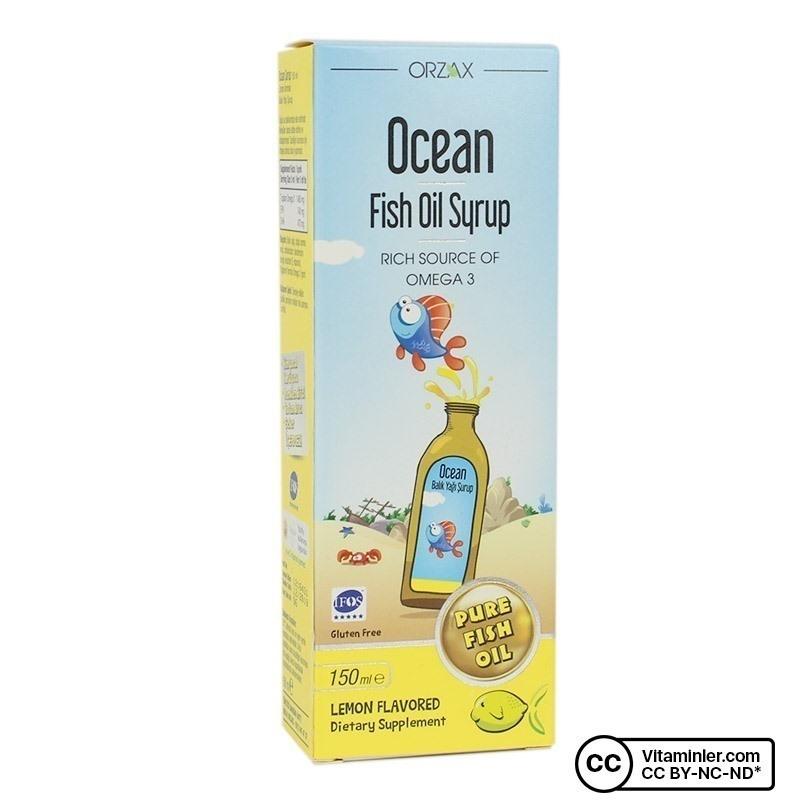 Ocean Balık Yağı Şurup 150 Ml