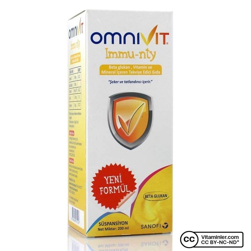 Omnivit Immu-nty Şurup 200 ml