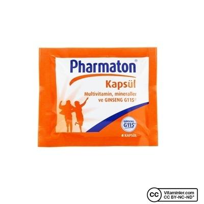 Pharmaton 4 Adet Kapsül
